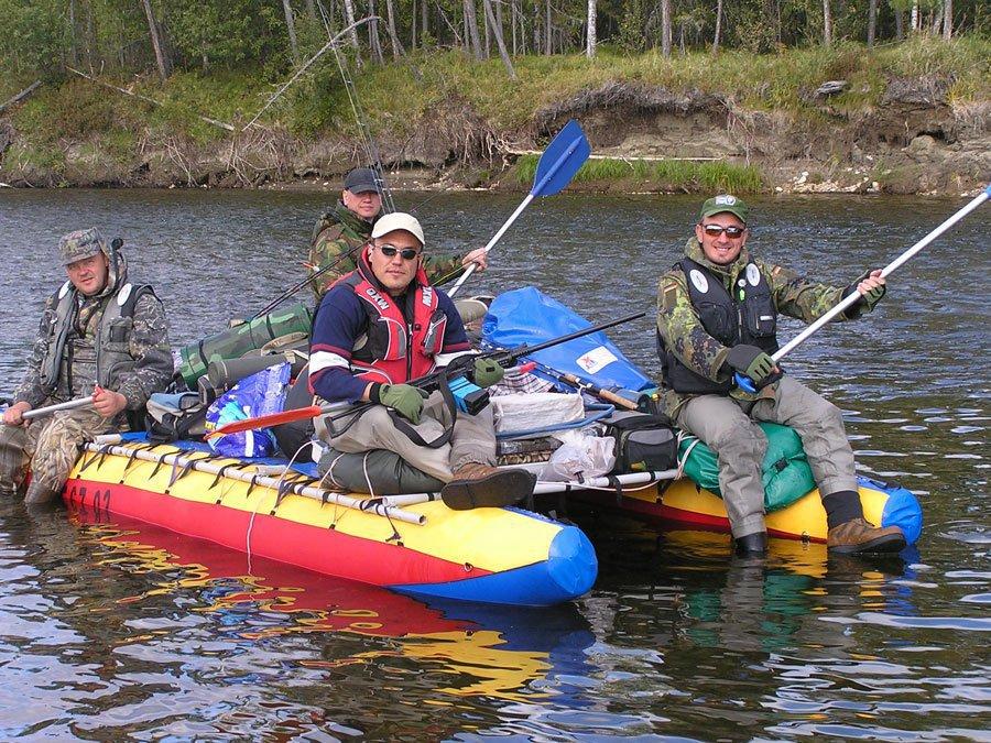 лодки для сплава по рекам цена